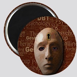 Psychology Mask Magnet