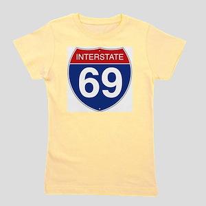 Interstate 69 Girl's Tee
