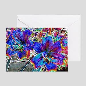 Amaryllis Lilies  Greeting Card