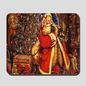 Victorian Santa Mousepad