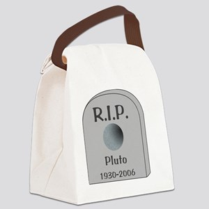RIP Pluto Canvas Lunch Bag