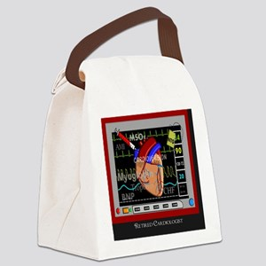 Retired Cardiologist Pillow Canvas Lunch Bag