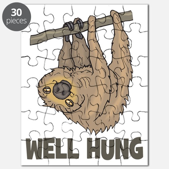 The Well Hung Sloth Puzzle