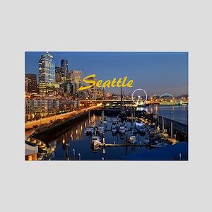 Seattle_8.56x7.91_GelMousepad_Sea Rectangle Magnet