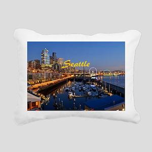 Seattle_8.56x7.91_GelMou Rectangular Canvas Pillow