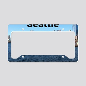 Seattle_6x6_SeattleWaterfront License Plate Holder