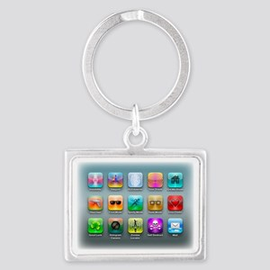 My Dream Apps Landscape Keychain