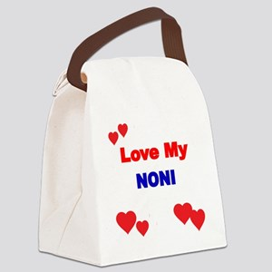 LOVE MY NONI Canvas Lunch Bag