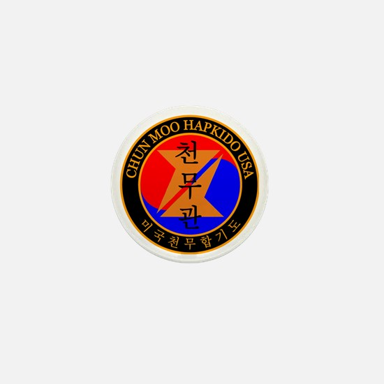 Chun Moo Hapkido USA Logo Mini Button