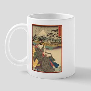 Japanese print Mug