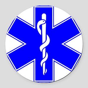 EMS Round Car Magnet