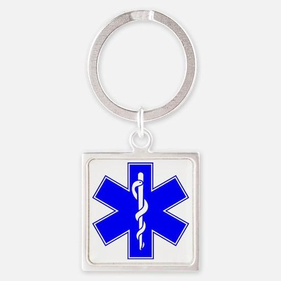 EMS Square Keychain