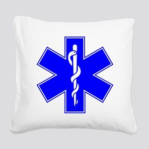 EMS Square Canvas Pillow
