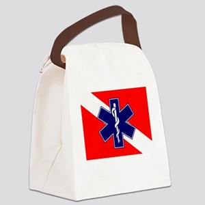 ERT Team Diver Canvas Lunch Bag
