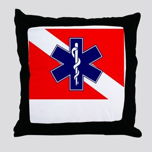 ERT Team Diver Throw Pillow