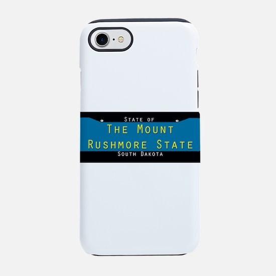 South Dakota Nickname #1 iPhone 7 Tough Case