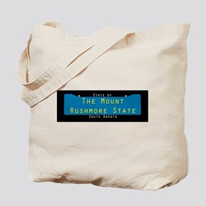 South Dakota Nickname #1 Tote Bag