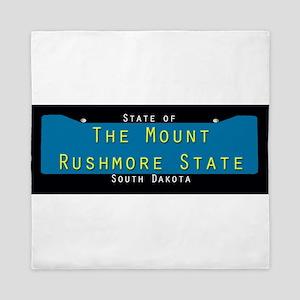 South Dakota Nickname #1 Queen Duvet