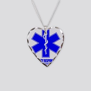 Emergency Response Team Necklace Heart Charm