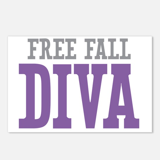 Free Fall DIVA Postcards (Package of 8)