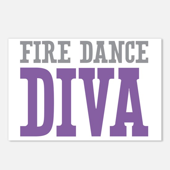Fire Dance DIVA Postcards (Package of 8)