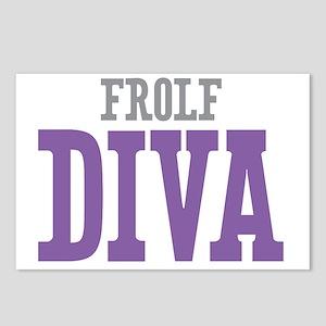 Frolf DIVA Postcards (Package of 8)