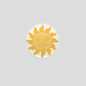 Happy Sun Mini Button