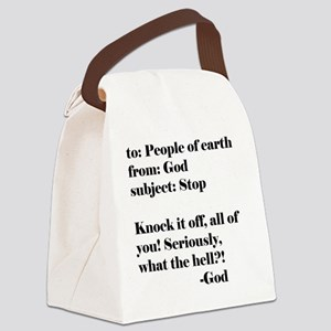 peopleofearth Canvas Lunch Bag