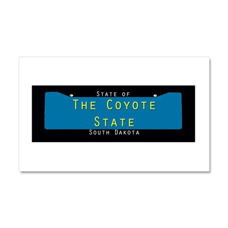 South Dakota Nickname #3 Car Magnet 20 x 12