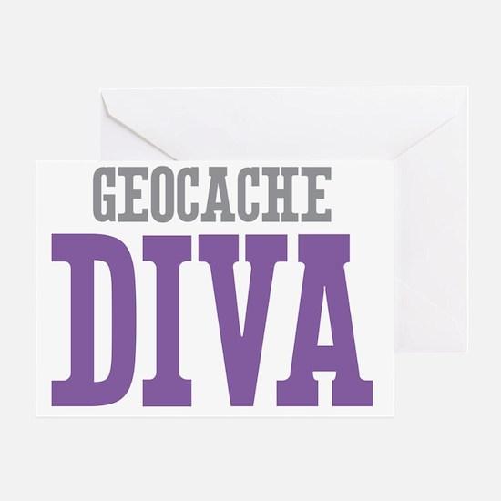 Geocache DIVA Greeting Card