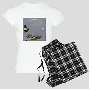 clock 2h2jtymp smog chic Women's Light Pajamas
