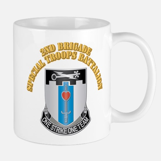 DUI - 2nd Brigade - Special Troops Bn with Text Mu