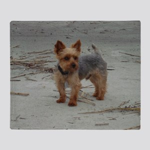 Yorkshire Terrier Hilton Head Island Throw Blanket