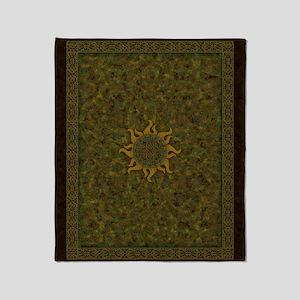 Ancient Sun Throw Blanket