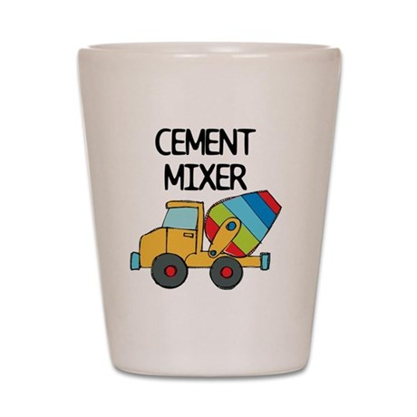 cement mixer shot glass by admin cp1147651. Black Bedroom Furniture Sets. Home Design Ideas