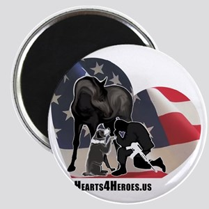 Hearts4Heroes Magnet