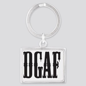 DGAF - Don't Give a F Landscape Keychain