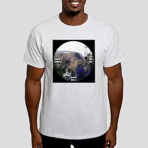 clock 2h2jtymp hollywood sign Light T-Shirt