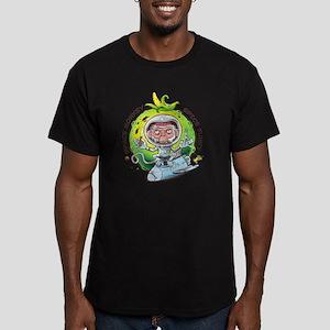 space monkey Men's Fitted T-Shirt (dark)