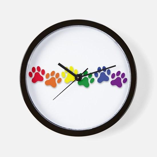 Family Pet Wall Clock