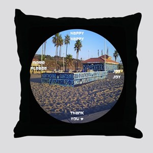 clock 2h2jtymp dockweiler Throw Pillow