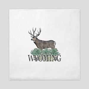 Wyoming buck Queen Duvet