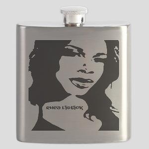 Rhea Promo Black & White Flask