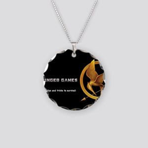 hunger games mockingjay Necklace Circle Charm