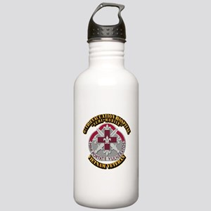 Army - 67th Evacuation Hospital Stainless Water Bo