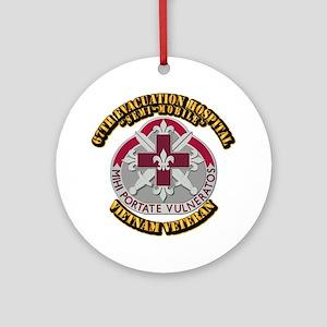 Army - 67th Evacuation Hospital Ornament (Round)