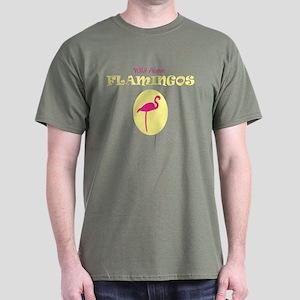 Wild About Flamingos Dark T-Shirt