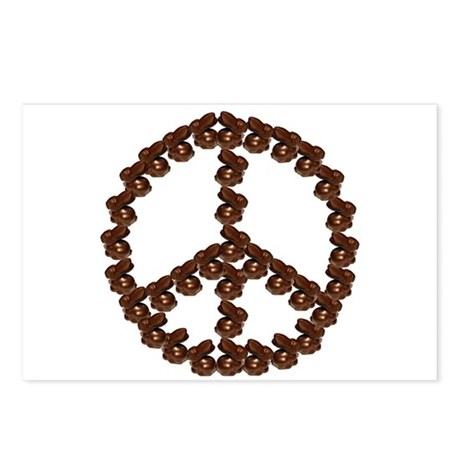 Peace by Chocolate Postcards (Package of 8)