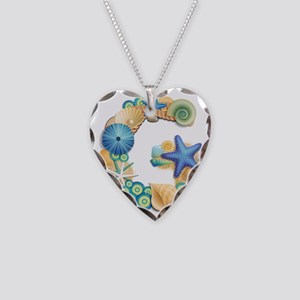 G Necklace Heart Charm
