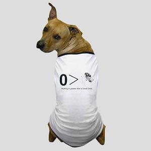 NH Greater Than Dog T-Shirt